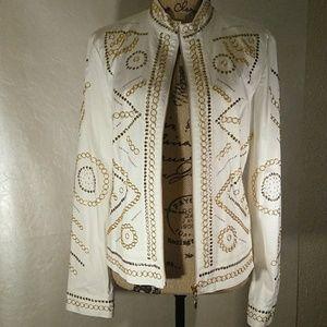 Christine Phillipe jacket fully embellished